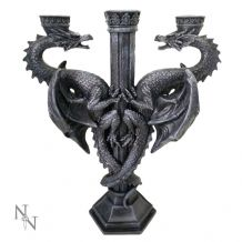 DRAGONS ALTAR CANDLE STICK HOLDER